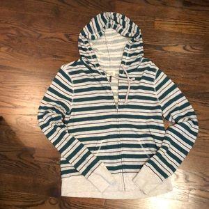 💛 Check & Stripe hoodie